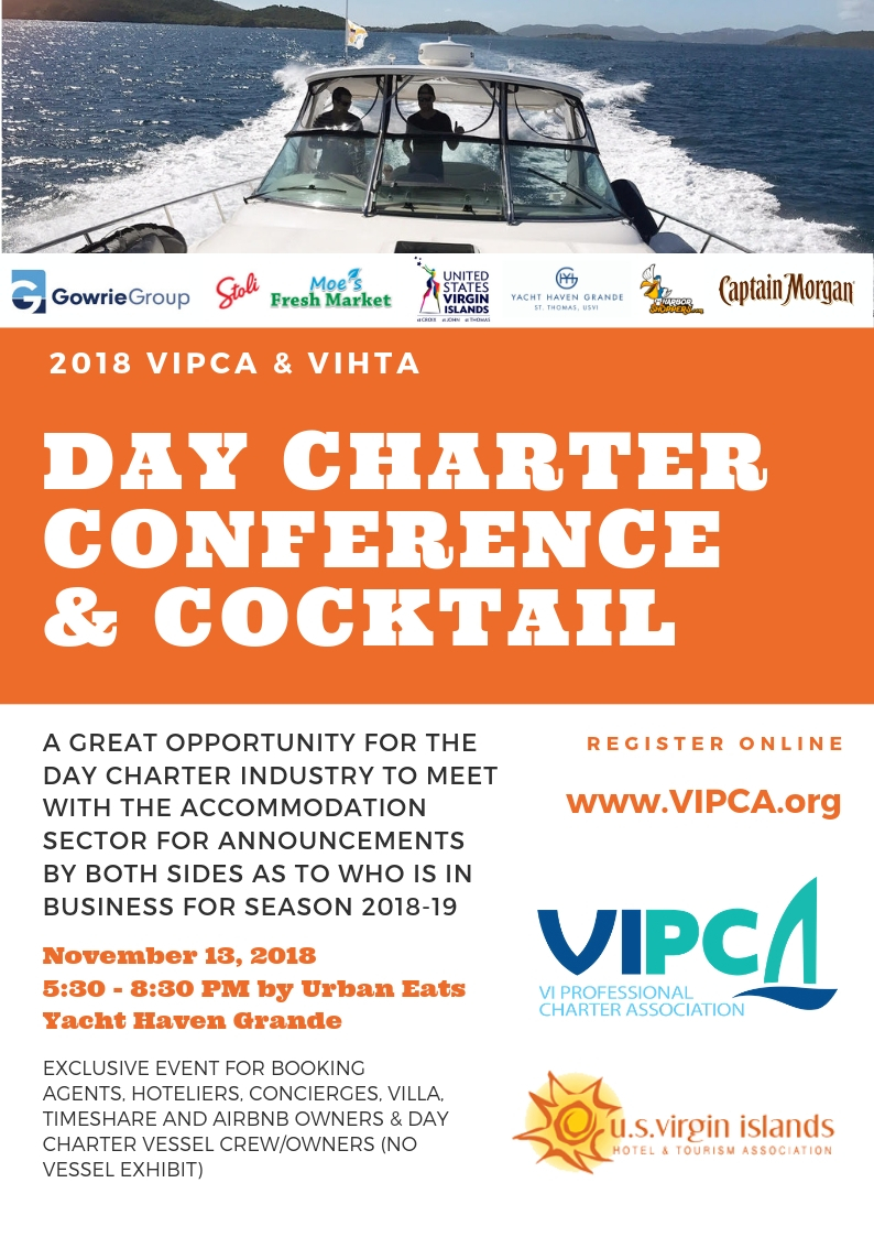 Day Charter Conference and Cocktail 13th Nov 5.30pm YHG